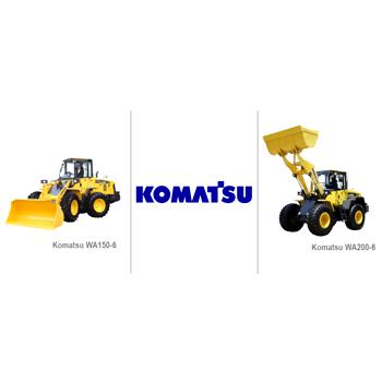 Komatsu представляет новые модели фронтальных погрузчиков 5-й серии WA150-6 и WA200-6