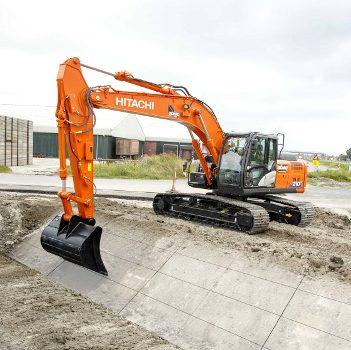 Новый высокоточный гидравлический экскаватор от компании Hitachi Construction Machinery
