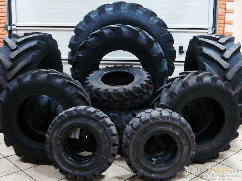 Вездеходные шины для погрузочной техники: свойства и разновидности